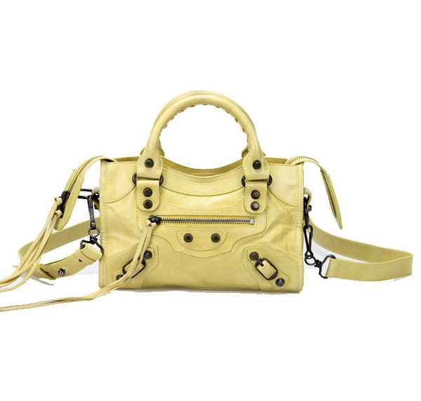 Balenciaga mini Classic First Bags 300295 Lemon