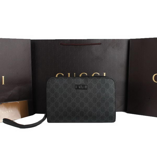 Gucci GG Plus Mens Clutch 201755 Black