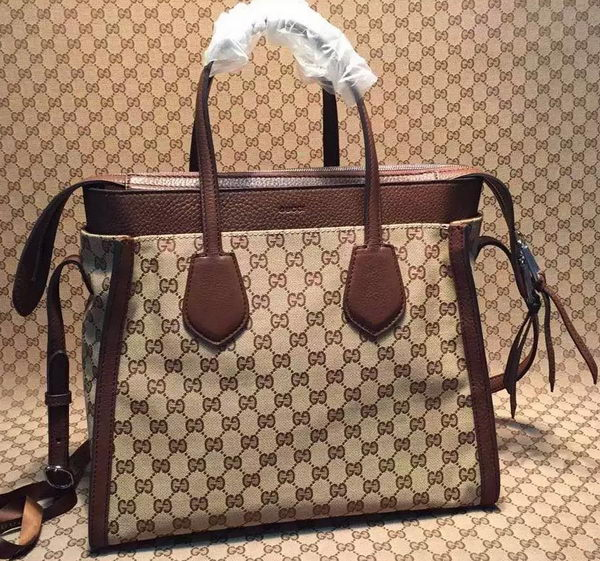 Gucci GG Classic Tote Bag 370822 Brown