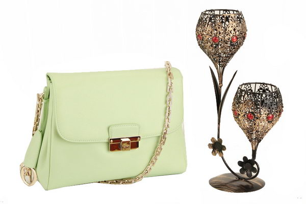 Dior Small DIORLING Bag in Original Leather M9816 Light Green