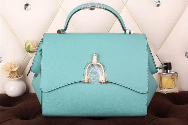 Hermes Stirrup Top Handle Bag H30560 SkyBlue