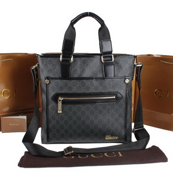 Gucci GG Supreme Canvas Tote Bag 301621 Black
