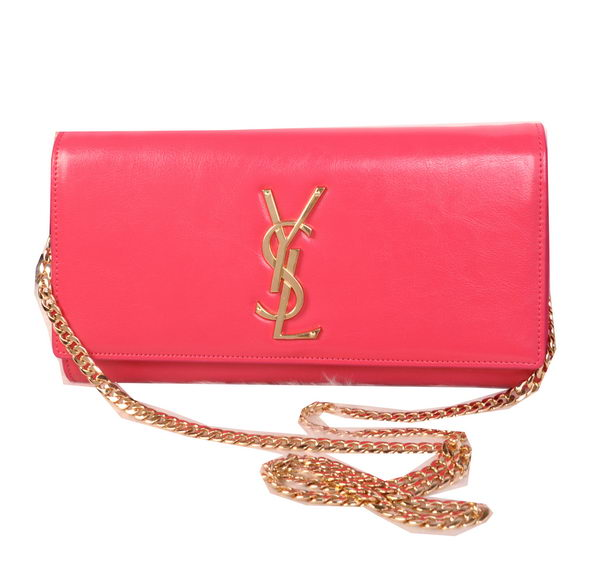 Yves Saint Laurent Classic Monogramme Clutch 311213B Rosy