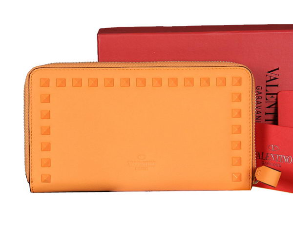 Valentino Garavani Continental Zipped Wallet VG6001Z Orange