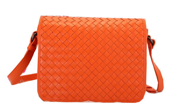 Bottega Veneta Flap Messenger Bag BV1158 Orange
