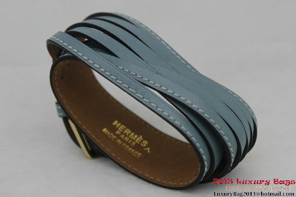 Hermes Genuine Leather Bracelet H1141_7
