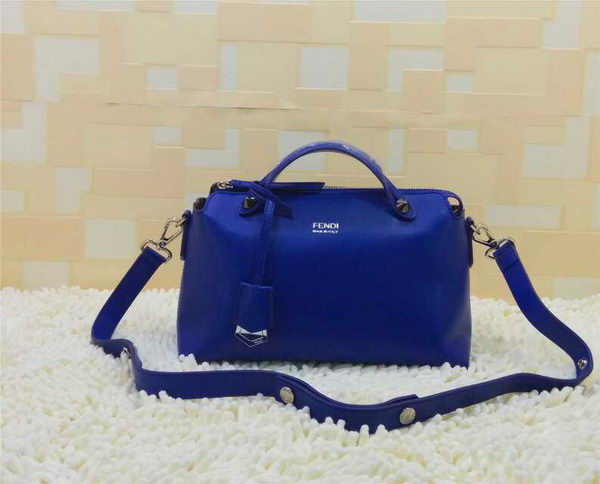 Fendi BY THE WAY Bag Calfskin Leather FD2356 Royal