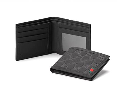 Gucci Bi-Fold Wallet 225835 Black