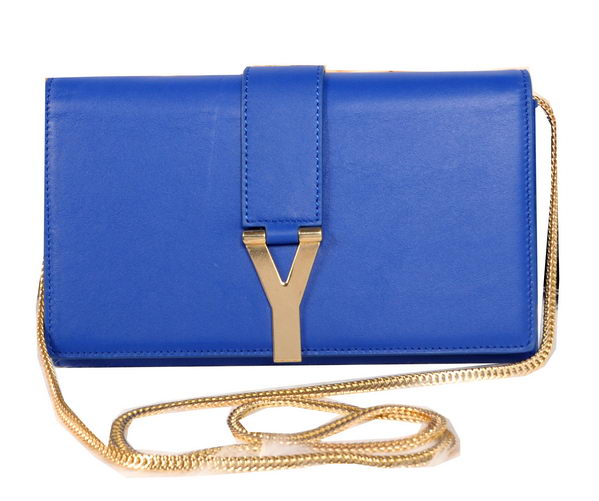 Yves Saint Laurent Chyc Travel Case 311216 Blue