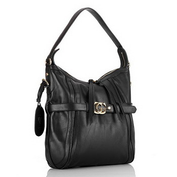Gucci Running Medium Hobo Bag 247185 black