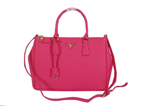 Prada Grainy Leather Tote Bag BN2964 Rose