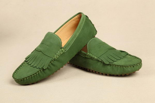 Gucci Suede Leather Casual Shoes GG0400 Green