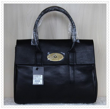 Mulberry Bayswater Natural Leather Black 5988