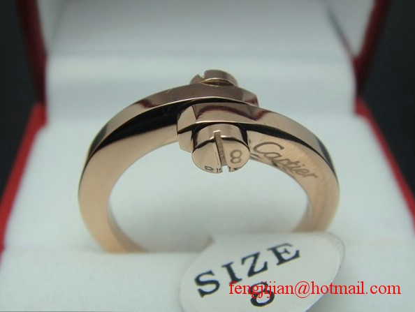 Cartier Classics rings Rose Gold