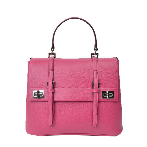 Prada Original Leather Tote Bags BN2798 Rose