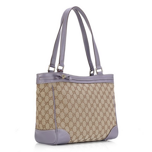 Gucci Mayfair Medium Tote Bag 257061 Light Purple