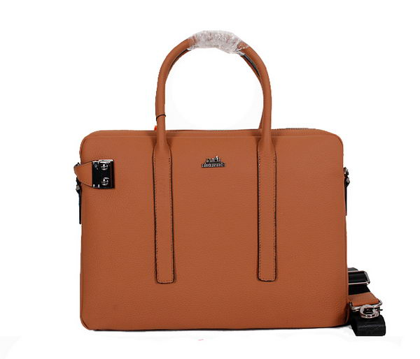 Hermes Original Calf Leather Briefcase M33991 Wheat