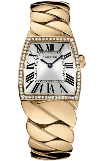 Cartier La Dona Series 18k Rose Gold Midsize Ladies Swiss Quartz Wristwatch-WE60050I