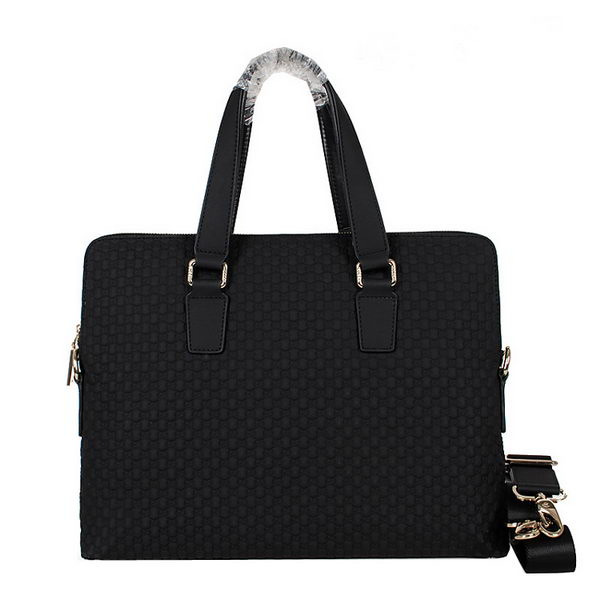 Gucci Guccissima Leather Business Briefcase 20652 Black