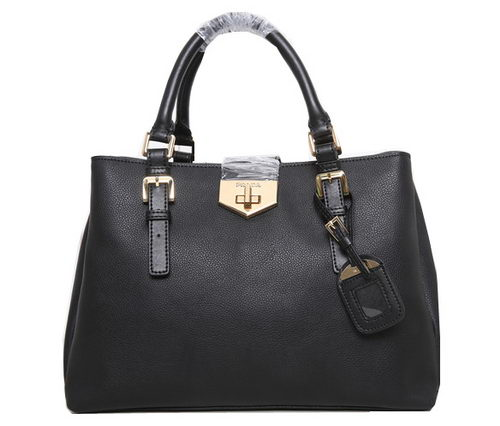 Prada Original Leather Tote Bag BN8019 Black