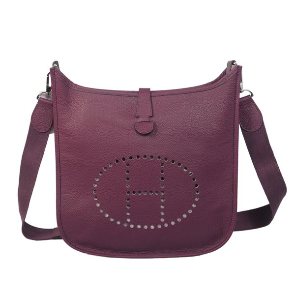Hermes Evelyne Messenger Bag H1608 Purple