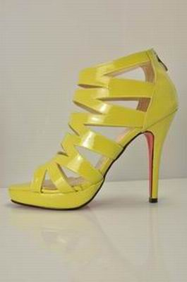 Christian Louboutin Fernando Sandals in yellow
