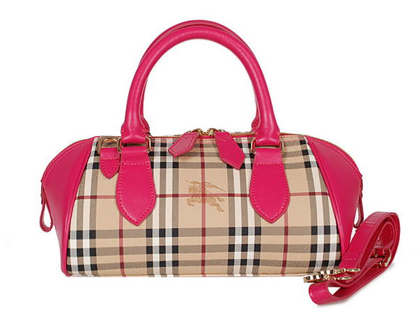 BurBerry Medium Blaze in Haymarket Check Bag 4391 Rose
