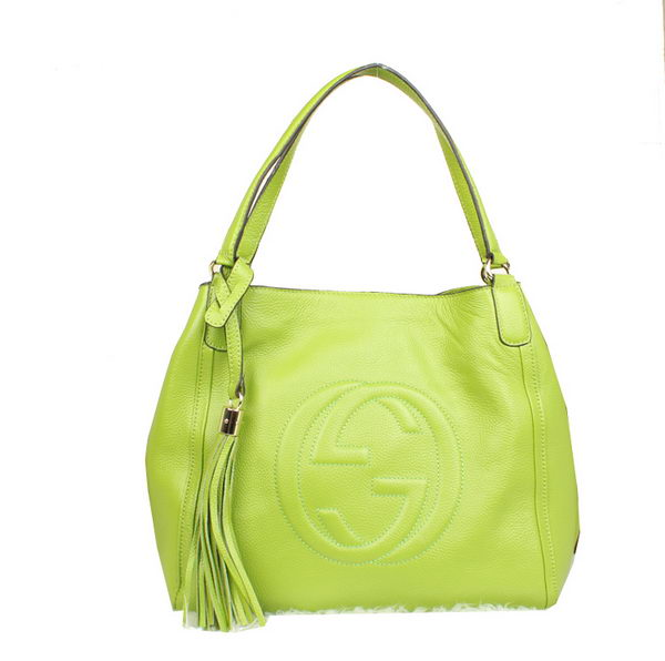 Gucci Medium Soho Shoulder Bag 282309 Green
