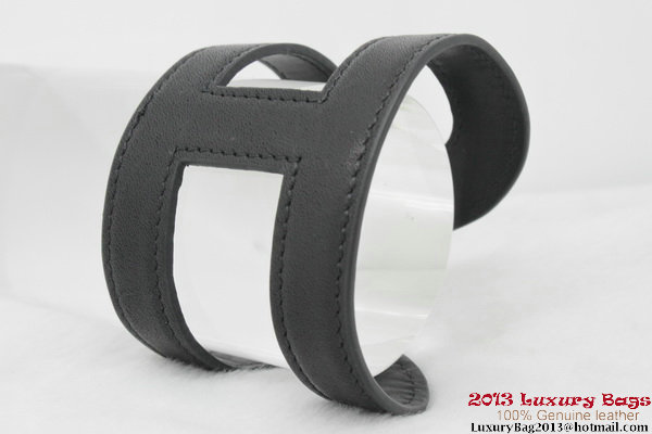 Hermes Genuine Leather Bracelet H1138_4