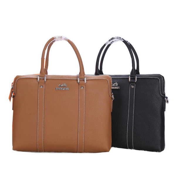 Hermes Briefcase Grainy Calf Leather H66033