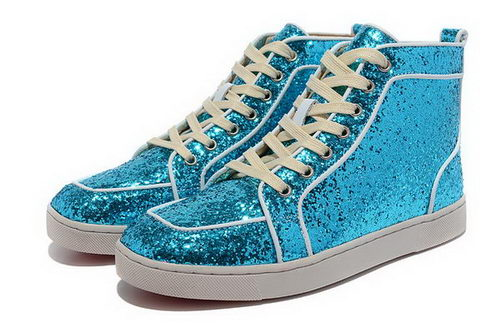 Christian Louboutin Casual Shoes SEQUIN CL859 Blue