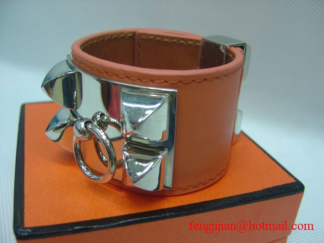 Beautiful Hermes Collier De Chien Bracelet 13134