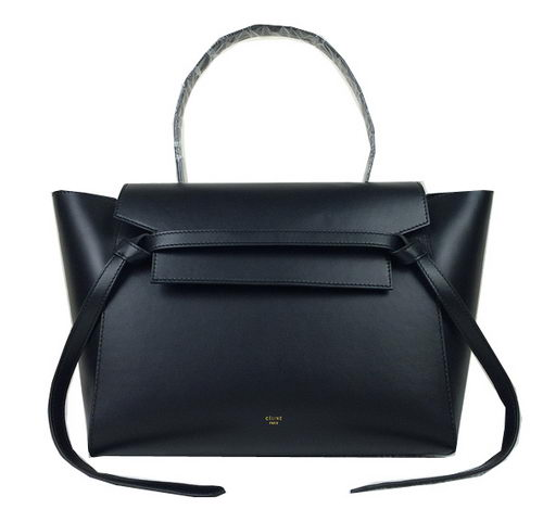 Celine Small Belt Bag Original Leather C98312 Black