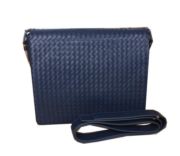 Bottega Veneta Cross Body Messenger Bag M7102L Blue
