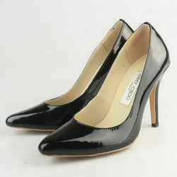Jimmy Choo Gilbert 100mm Patent Leather Pumps Black