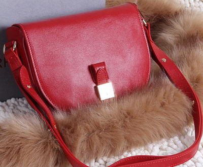 Mulberry Tessie Small Satchel Soft Grain Leather 2641 Red