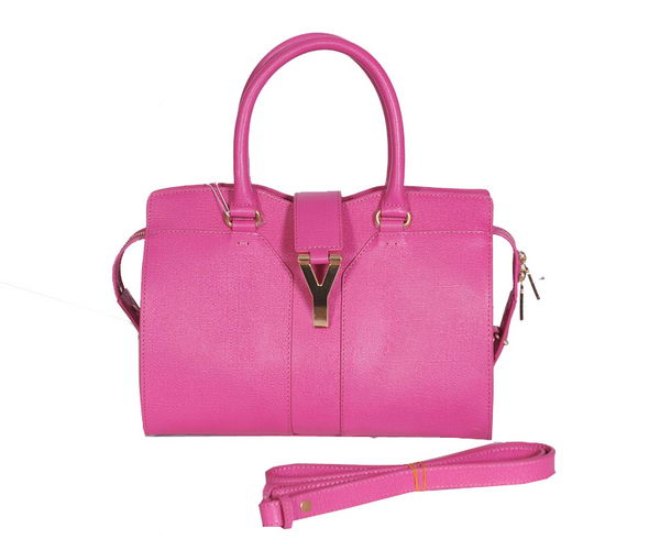 Yves Saint Laurent Small Cabas Chyc Bag YSL8220-1 Rosy