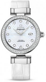 Omega De Ville Ladymatic Watch 158614AD