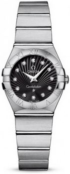 Omega Constellation Brushed Quarz Mini Watch 158627AAA