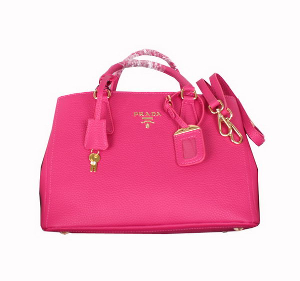 PRADA Original Calf Leather Tote Bag BN2962 Rose