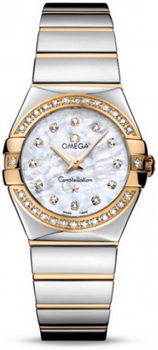 Omega Constellation Polished Quarz Small Watch 158638P