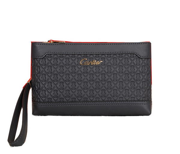 Cartier Original Calfskin Leather Clutch 2083 Blue