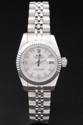 Rolex Datejust Mechanism Silver Bezel White Surface -RD2454