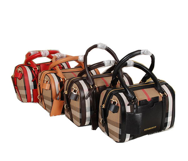 BurBerry House Check Bowling Bag 9161