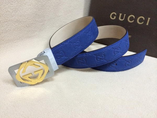 GUCCI Belt GI1386B Blue