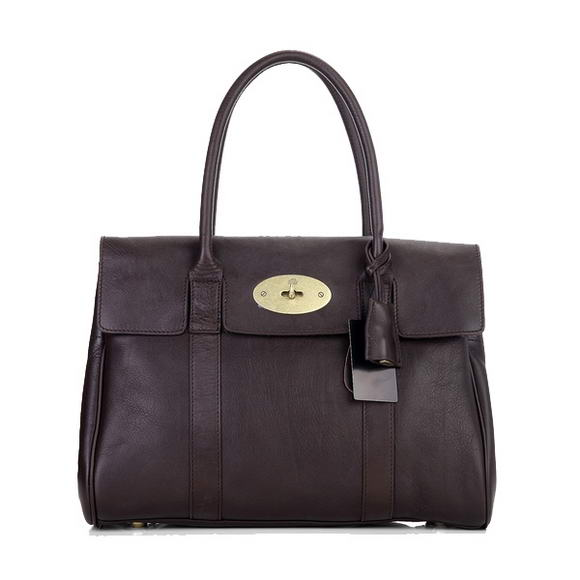 Mulberry Bayswater Large Tote Bag M6895 Brown