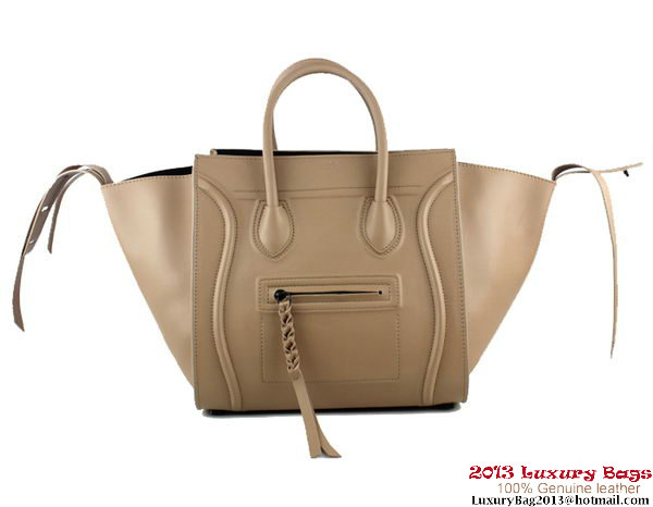 Celine Luggage Phantom Shopper Bags Leather 88033 Apricot