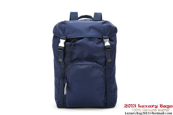 PRADA Technical Fabric Backpack V164 RoyalBlue