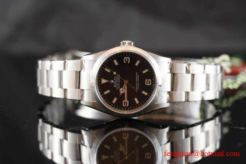 Rolex Steel Explorer I Watch 114270-78690