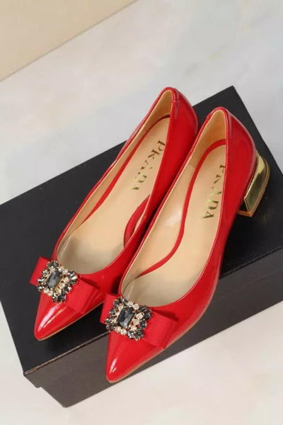 Prada Pump Patent Leather PD398 Red
